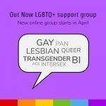 SHOUT will organise an Out Now support group again