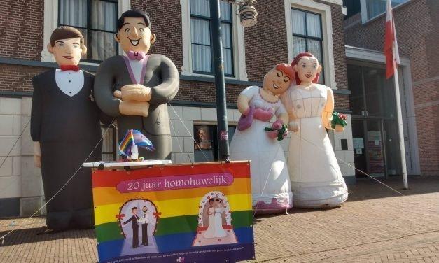 SHOUT viert 20 jaar homohuwelijk
