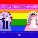 Homohuwelijk 20 jaar